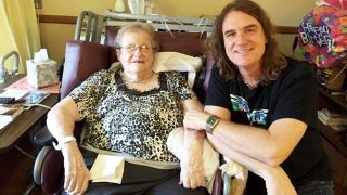David Ellefson and mum Frances