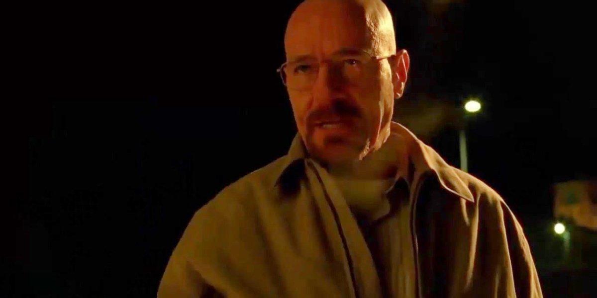 "Walt when he says ""Run"" in Breaking Bad."