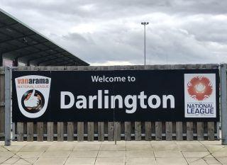 Darlington FC v Farsley Celtic – Vanarama National League – Blackwell Meadows