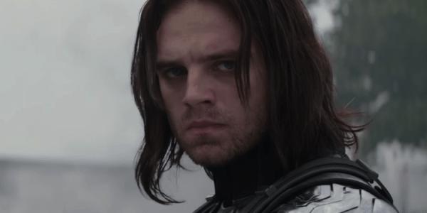 Sebastian Stan as Bucky Winter Solider in Captain America: winter Solider