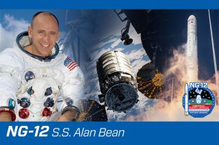 Northrop Grumman has named its NG-12 Cygnus cargo spaceship the S.S. Alan Bean for the late Apollo 12 astronaut, Skylab space station commander and celebrated space artist.
