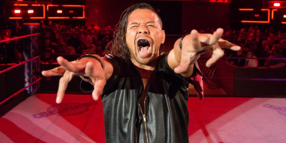 Shinsuke Nakamura on Monday Night Raw
