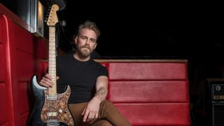 Joey Landreth with Coodercaster