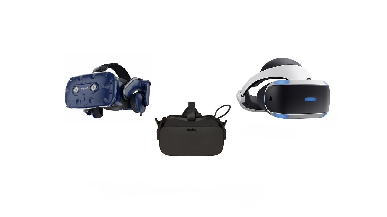 Oculus Rift vs  HTC Vive Pro vs  PlayStation VR - how to