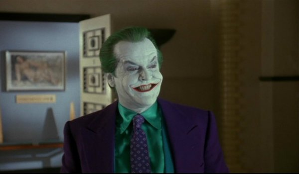 Jack Nicholson Joker Tim Burton's Batman
