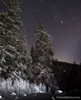 Orion Seen Over Colorado