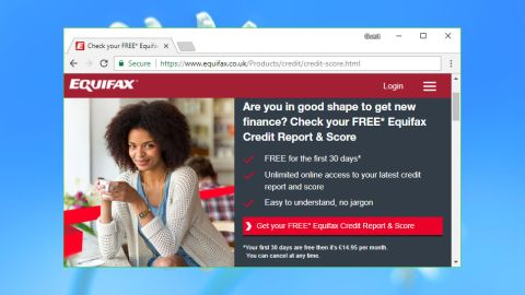 How do i update my equifax credit report