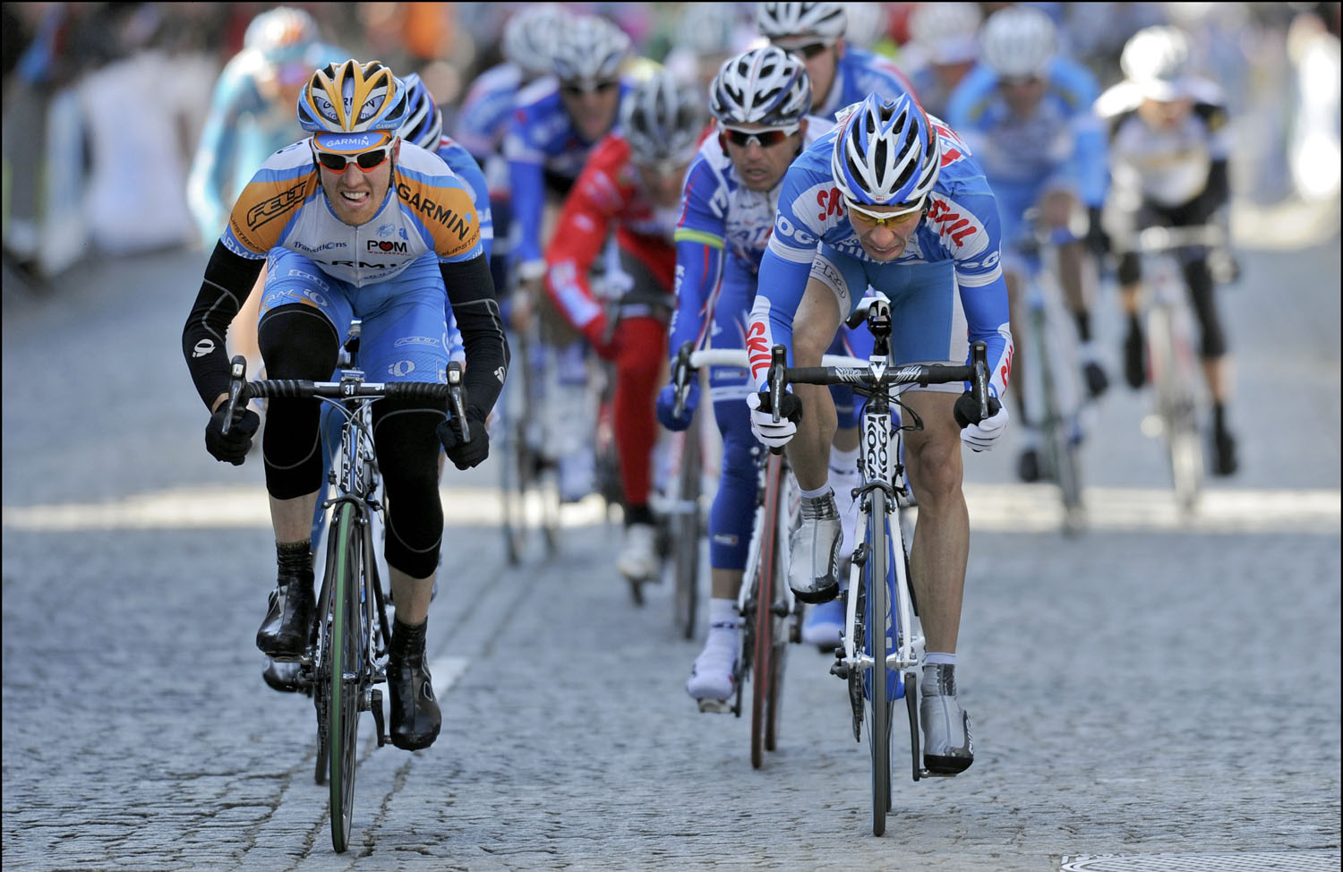 Tyler Farrar wins stage 3a, Three Days of De Panne 2010