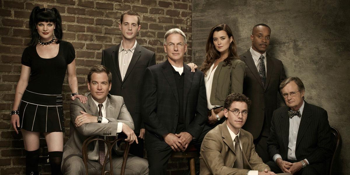 NCIS cast in the earlier days on CBS