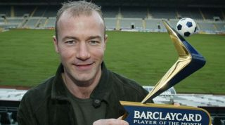 Alan Shearer Player of the Month