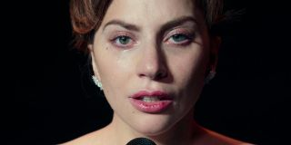 Lady Gaga crying at the end of A Star Is Born
