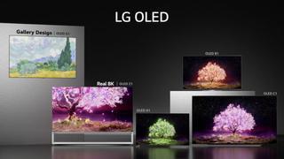 LG 2021 TV models