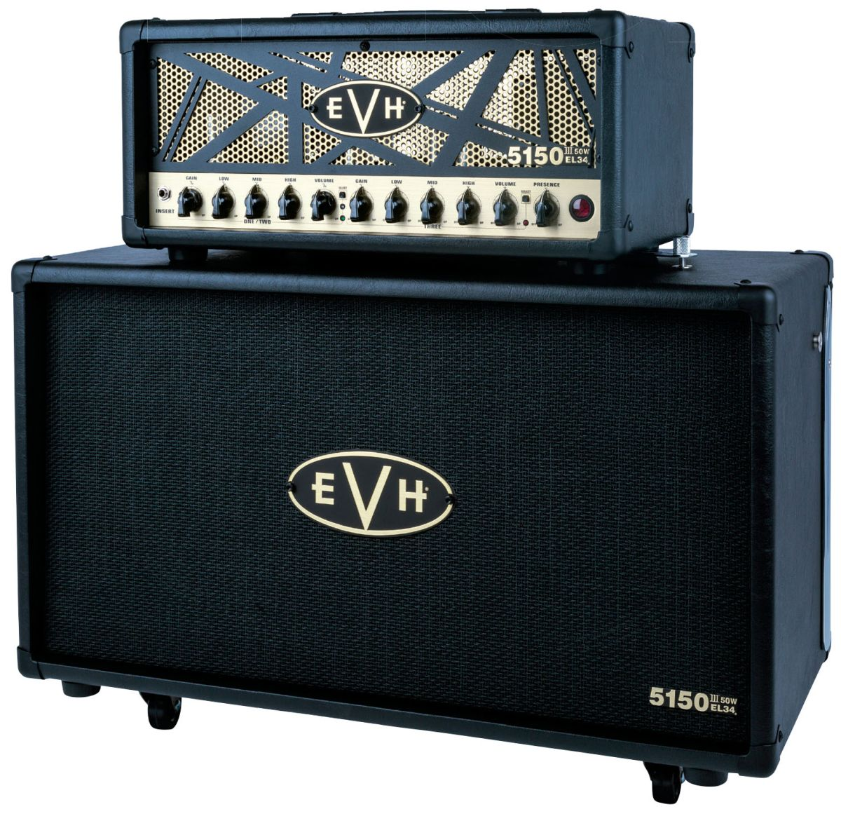 Review Evh 5150 Iii 50 Watt El34 Head Guitarworld Tube Amp Power Transformer 8211 Guitar Amplifier Analysis