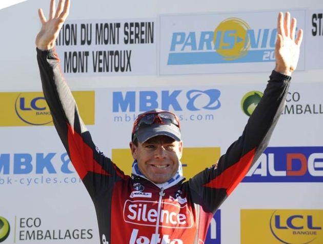 Paris-Nice stage 4 Cadel Evans