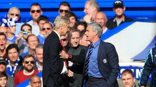 Wenger Mourinho Arsenal Chelsea
