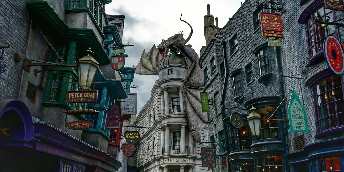 Diagon Alley at Universal Orlando Resort