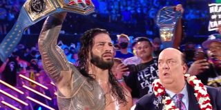 Roman Reigns with Paul Heyman SummerSlam WWE