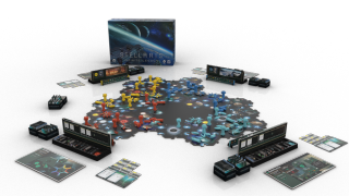 AN image of the Stellaris board game Stellaris Infinite Legacy