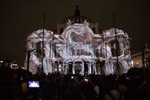 d3 Technologies Provides Projection Mapping at FILUX 2015