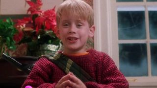 Macaulay Culkin as Kevin McCallister in Home Alone