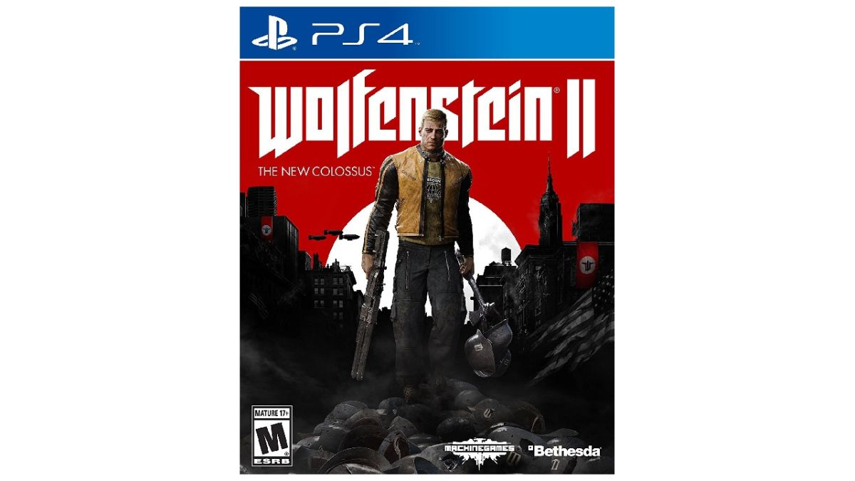 Make Nazis eat your whole fist for less than half the price - Wolfenstein 2: The New Colossus is just $25 right now