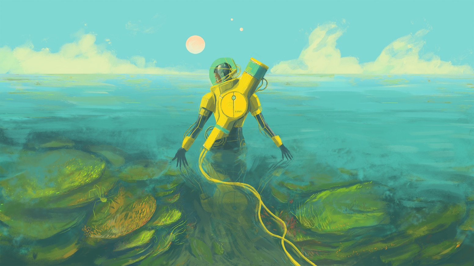 In Other Waters lets you scan the ocean for new life | PC Gamer