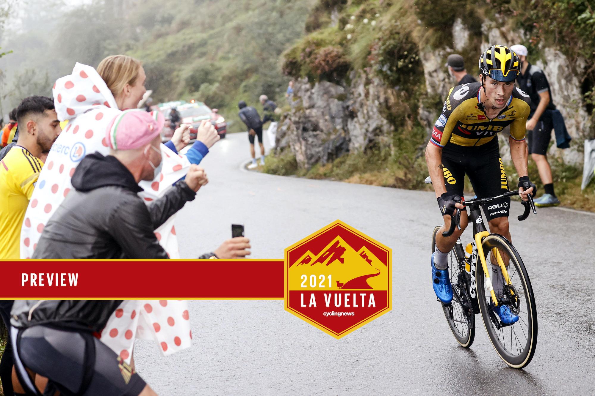 Vuelta Espana 2021 - 76th Edition - 17th stage Unquera - Lagos de Covadonga 185,8 km - 01/09/2021 - Primoz Roglic (SLO - Jumbo - Visma) - photo Luis Angel Gomez/BettiniPhoto©2021