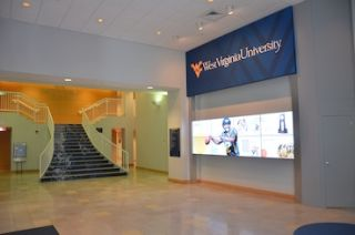 X2O Xpresenter Drives West Virginia University Video Wall