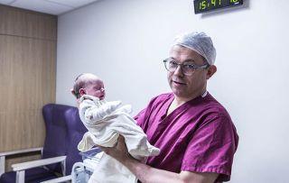Hospital: Shows consultant Mark Clement Jones