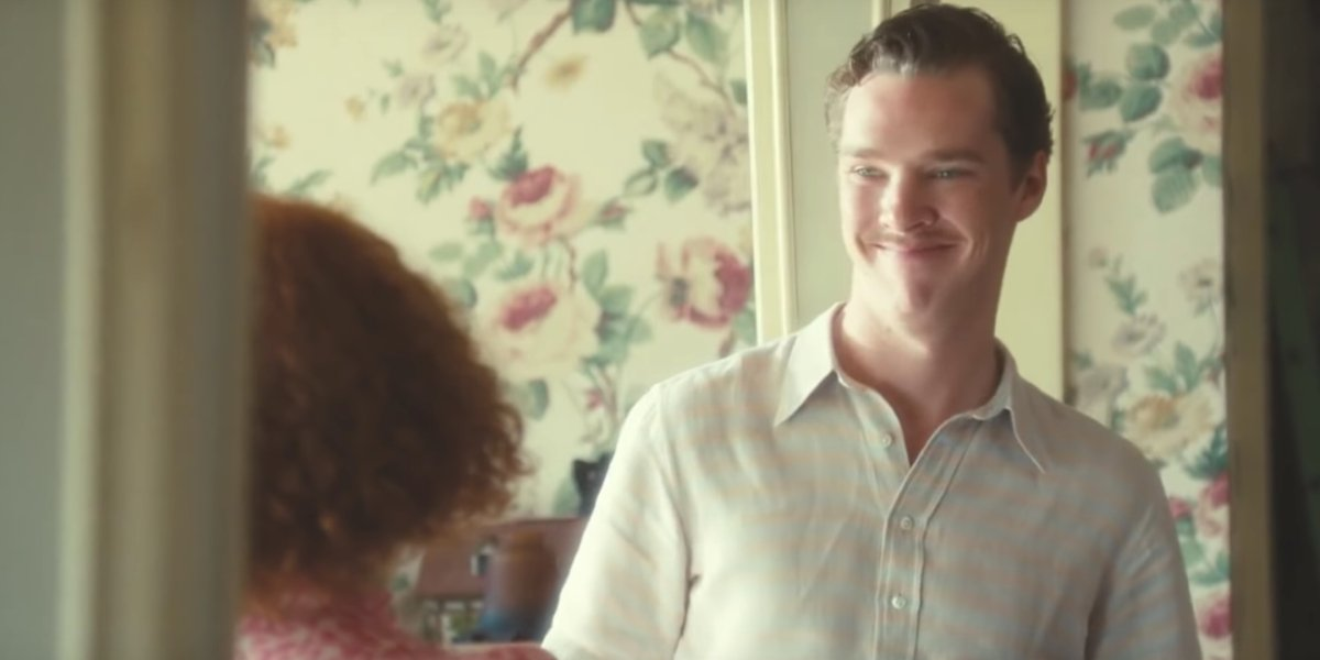 Benedict Cumberbatch being smug in Atonement
