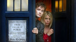 David Tennant and Billie Piper in Doctor Who
