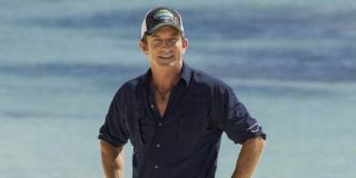 Jeff Probst on the beach in Game Changers