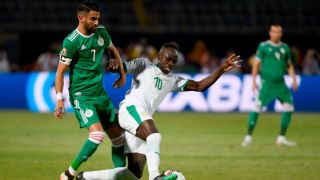 senegal vs algeria live stream african cup of nations final 2019 Sadio Mane Riyad Mahrez