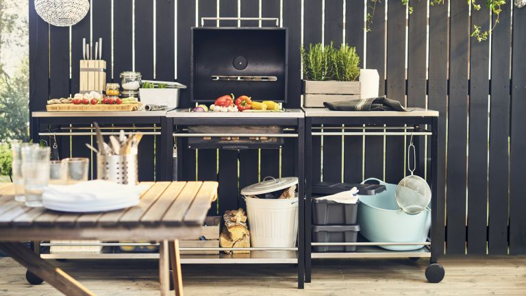 Outdoor kitchen ideas: