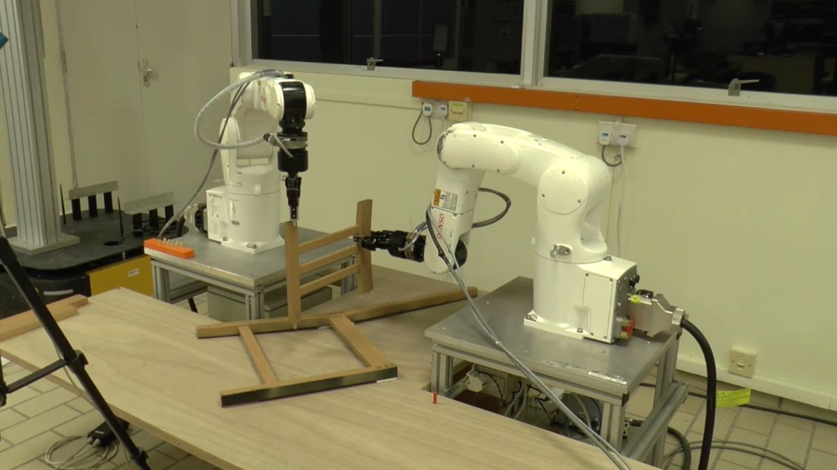 Frustration be gone: this robot will build Ikea furniture for you
