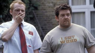 Simon Pegg and Nick Frost in Shaun of the Dead