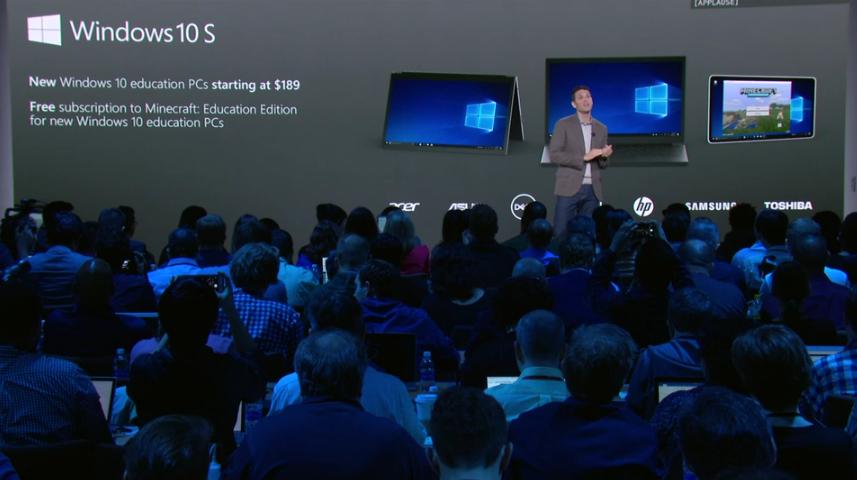 Windows 10 S revealed, with Chromebook-like laptops to match - MGI