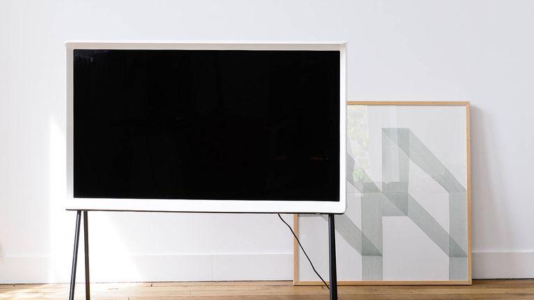 the best 40 inch TV: Samsung UE40LS001AU Serif