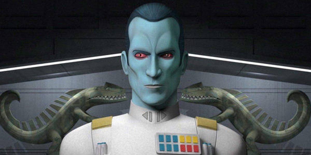 Grand Admiral Thawn on Star Wars Rebels
