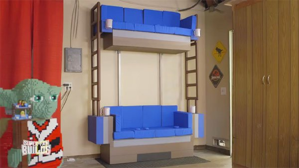 double-decker couch