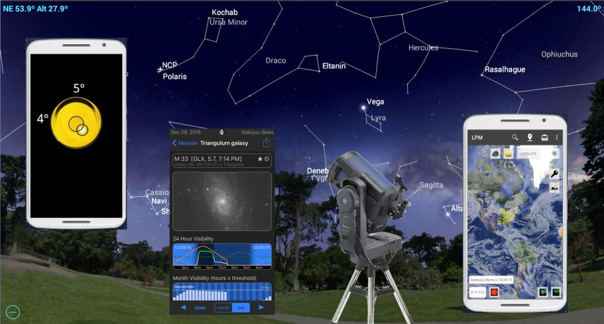 Turn Your Smartphone into an Astronomy Toolbox with Mobile