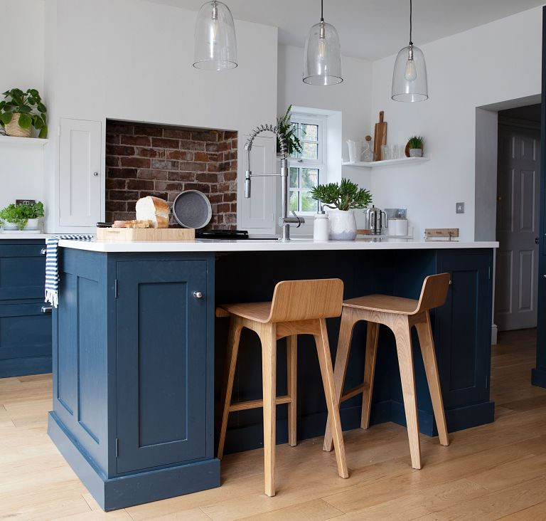 A mill house has been converted into a family home with a relaxing style