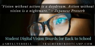 Back to School Student Goal-Setting and Motivation with Digital Vision Boards