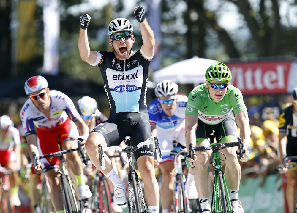 Mark Cavendish Wins Tour De France Stage Seven As Froome