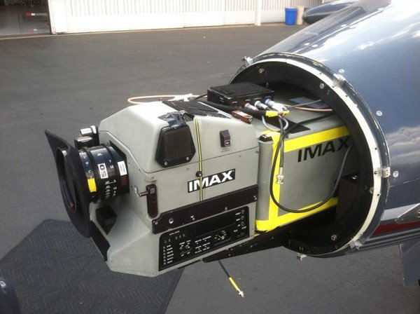 Interstellar IMAX Learjet 2