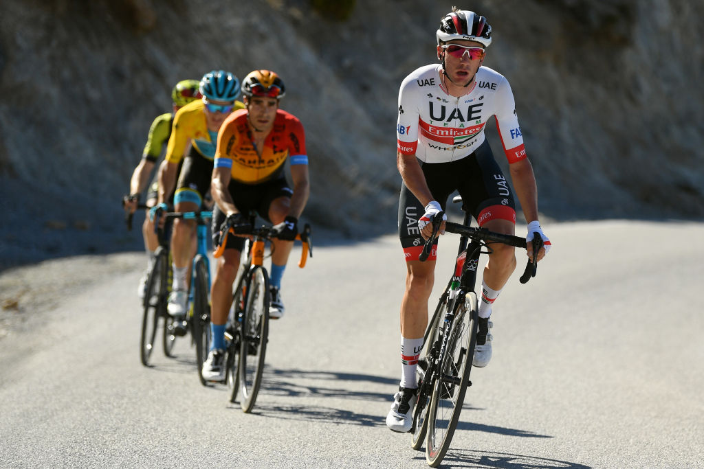 UAE Team Emirates' Brandon McNulty is one of a number of new, young signings that have shown a lot of promise for the near future