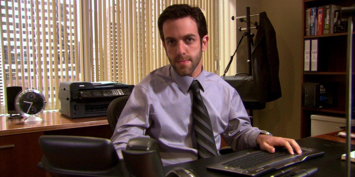 B.J. Novak on The Office