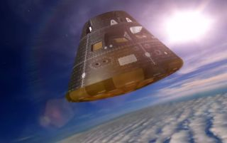 NASA's Orion Spacecraft Re-Entry
