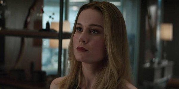 Brie Larson In Avengers Endgame