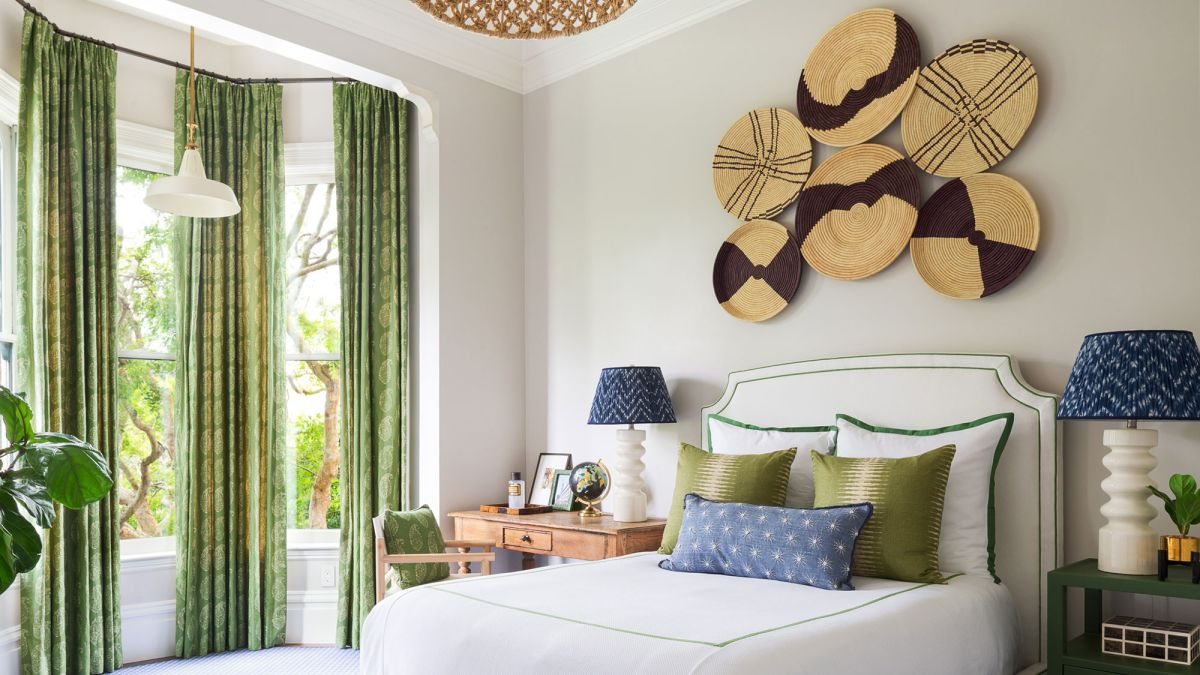 Bedroom accent wall ideas – create a feature wall using color, pattern, art and more